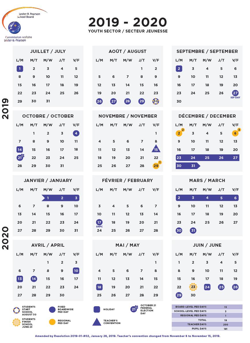 Calendars - Lbpsb In West Ottawa School Calendar
