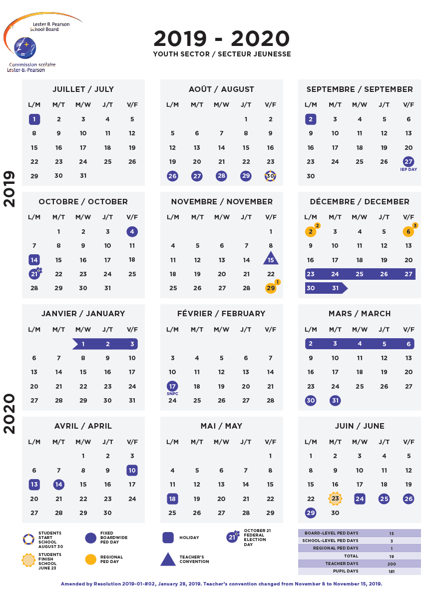 Calendars – Lbpsb With Regard To Calendar Of St.charles Community College