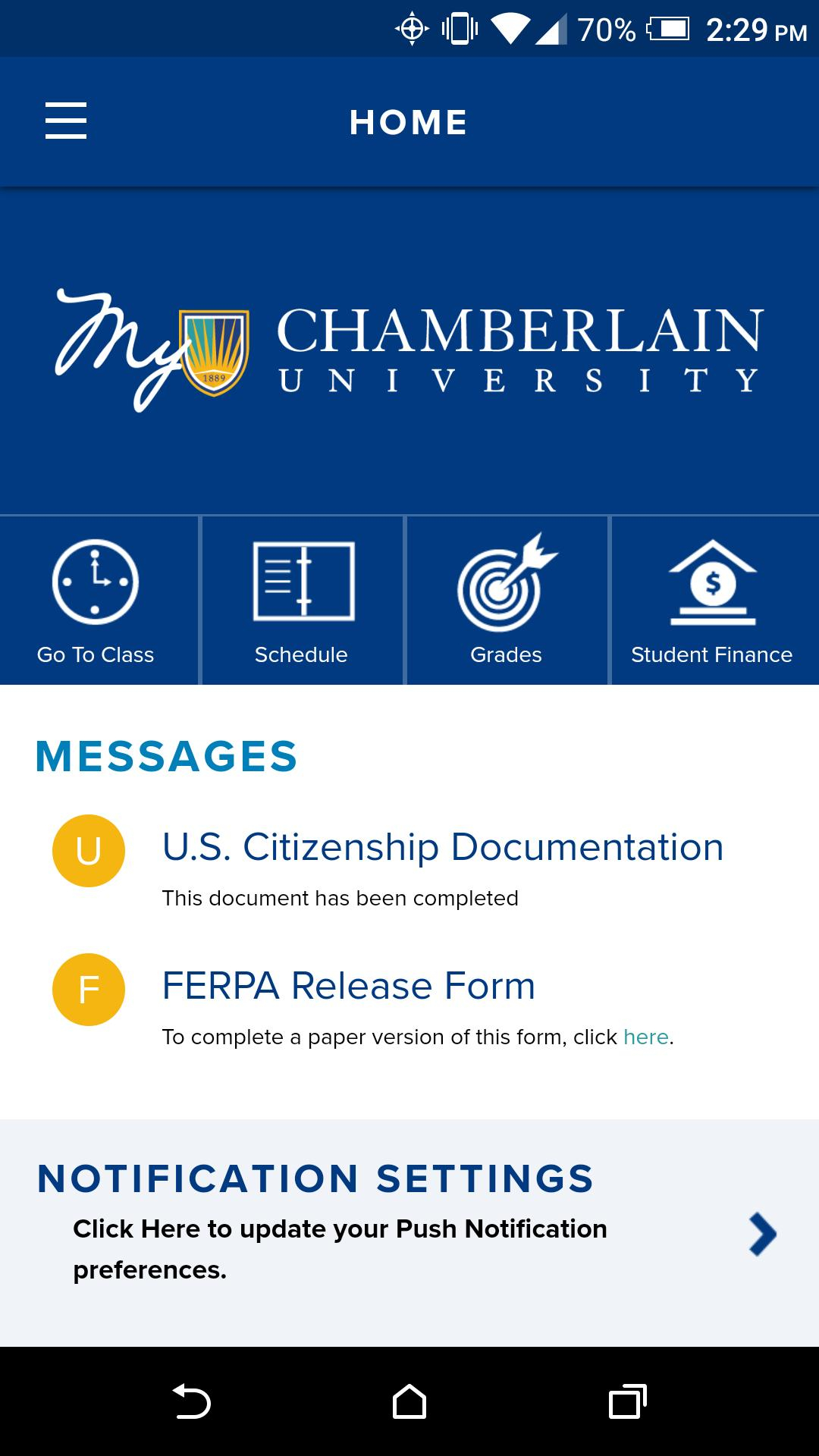 Chamberlain For Android – Apk Download Regarding Chamberlain University Academic Schedule