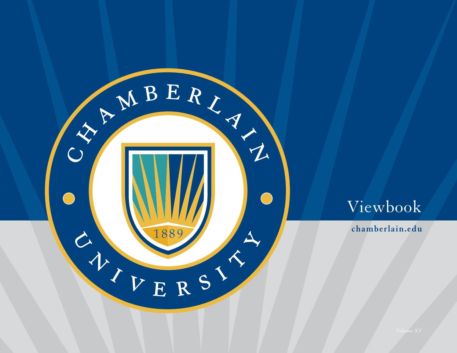 Chamberlain University Viewbookchamberlain University Regarding Chamberlain University Academic Schedule