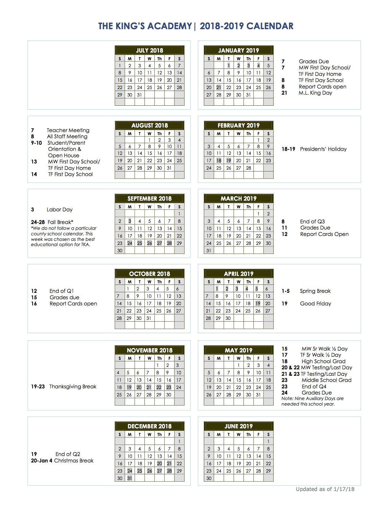 Cherokee County Schools Calendar Sc With West Palm School Calendar