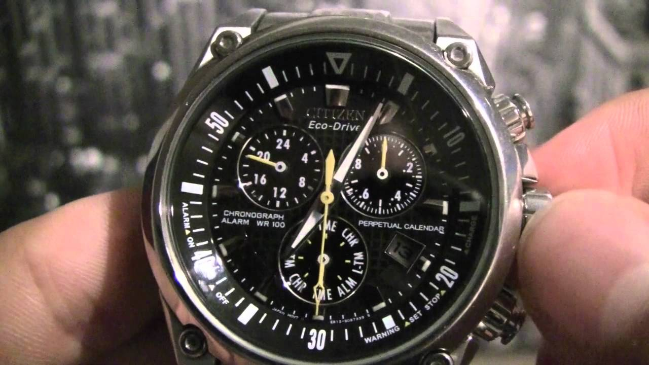Citizen Eco Drive Инструкция With Regard To Citizen Eco Drive Chronograph Wr100 Manual