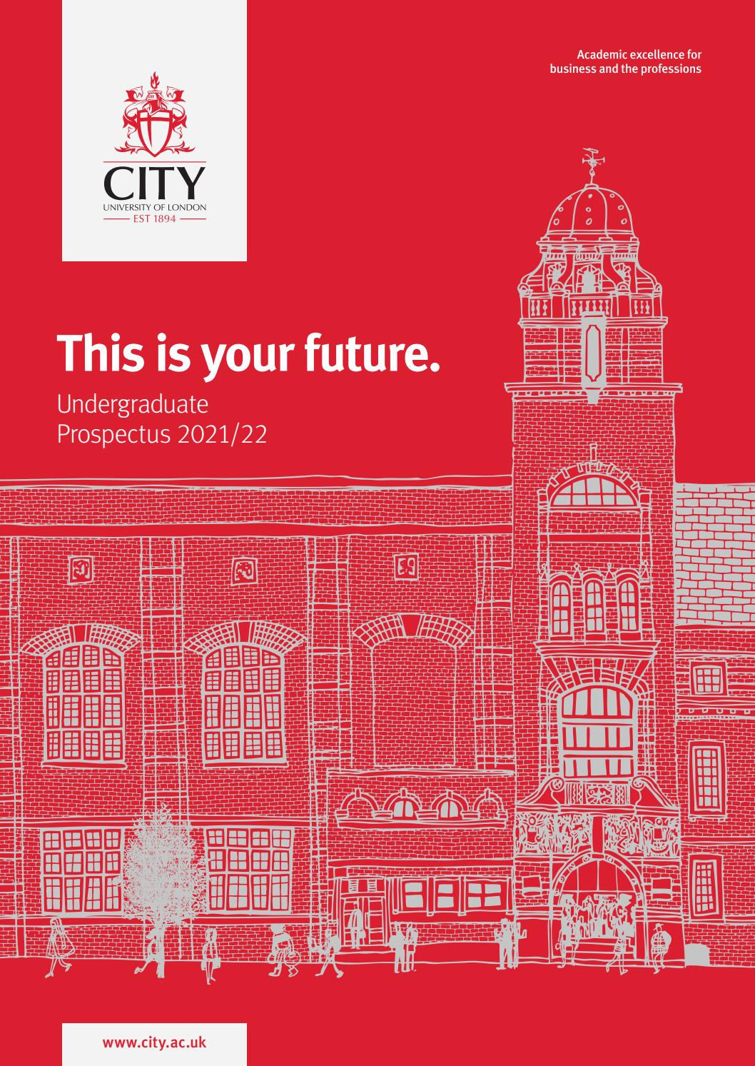 City, University Of London 2021/22 Undergraduate Prospectus For University Of Glasgow Academic Calender 2021