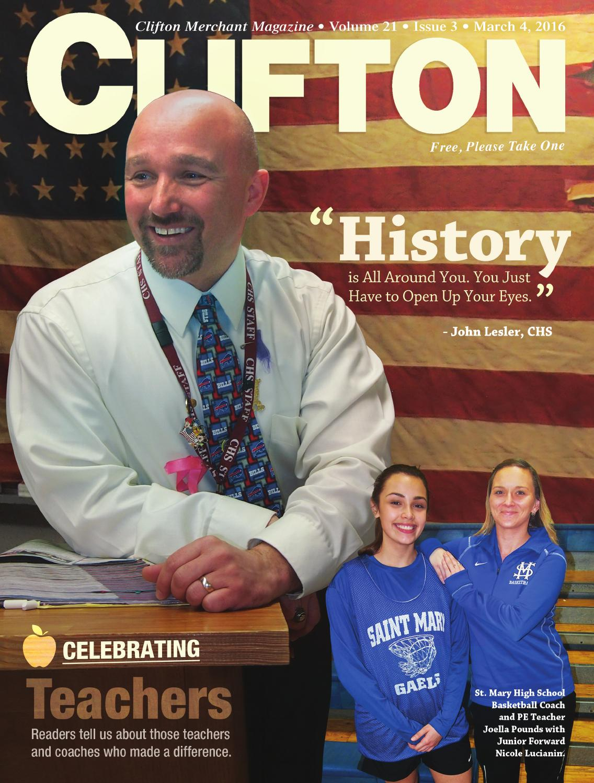 Clifton Merchant Magazine - March 2016Clifton Merchant In Stephanie Delorenzo Ramapo School District