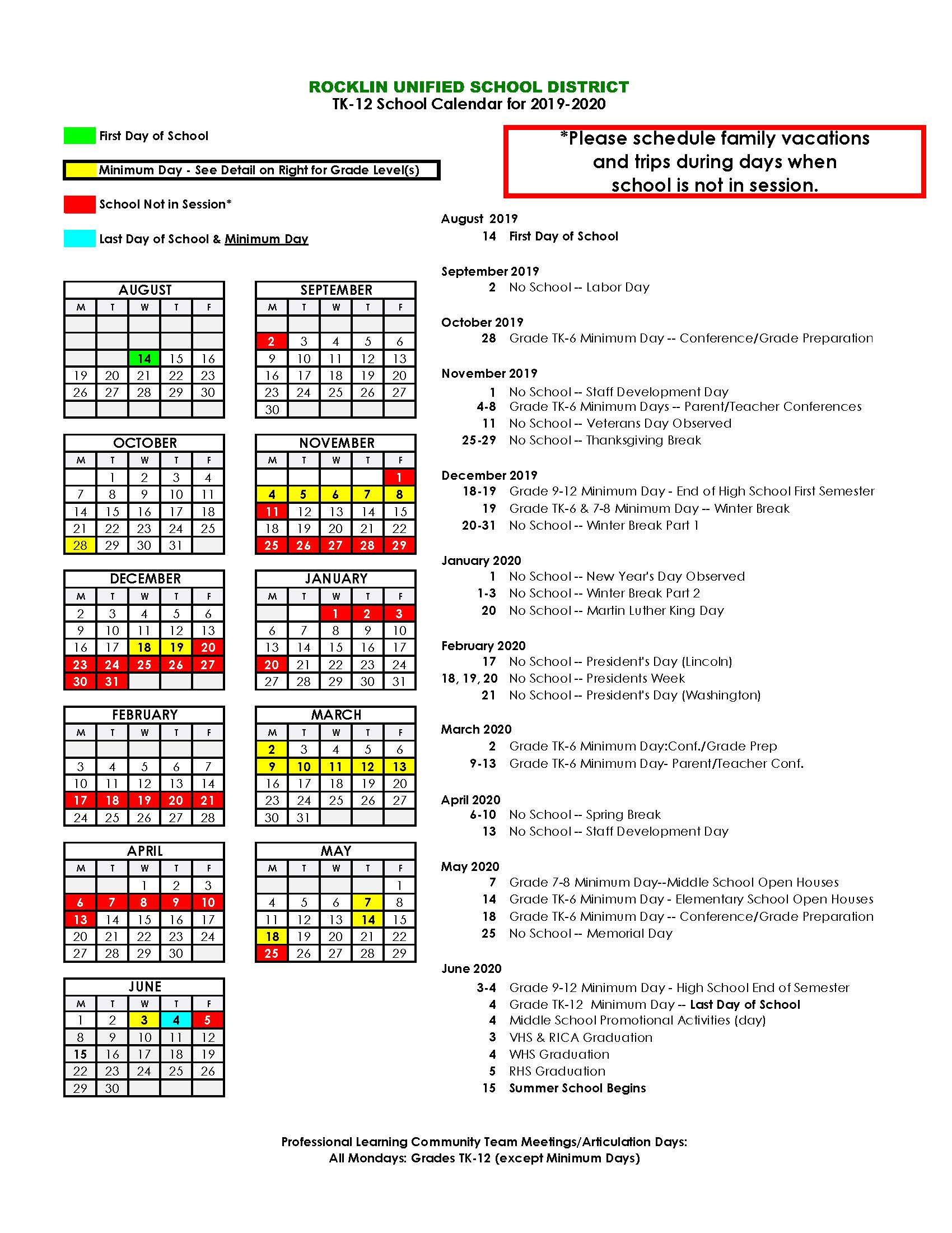 Cobblestone Elementary School – Parents Info With Regard To Lodi Unified School District Calendar