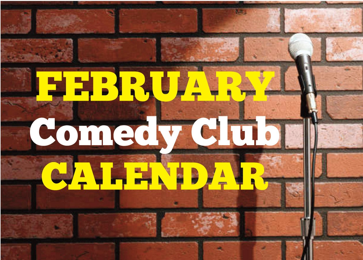 Comedy Club Calendar February 2020 – Happenings Magazine Within Calendar For Naples Florida