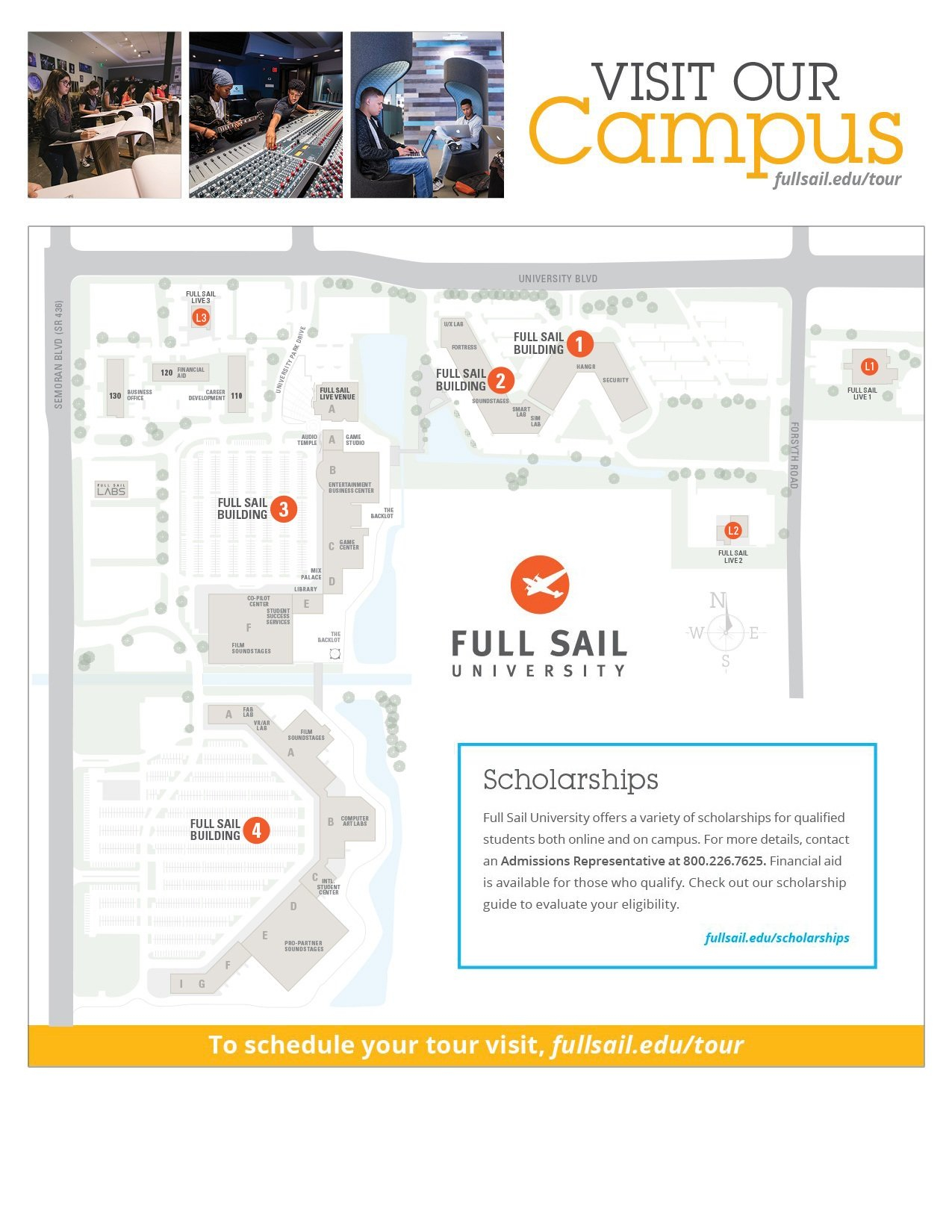 Contact Regarding Full Sail University Class Schedule