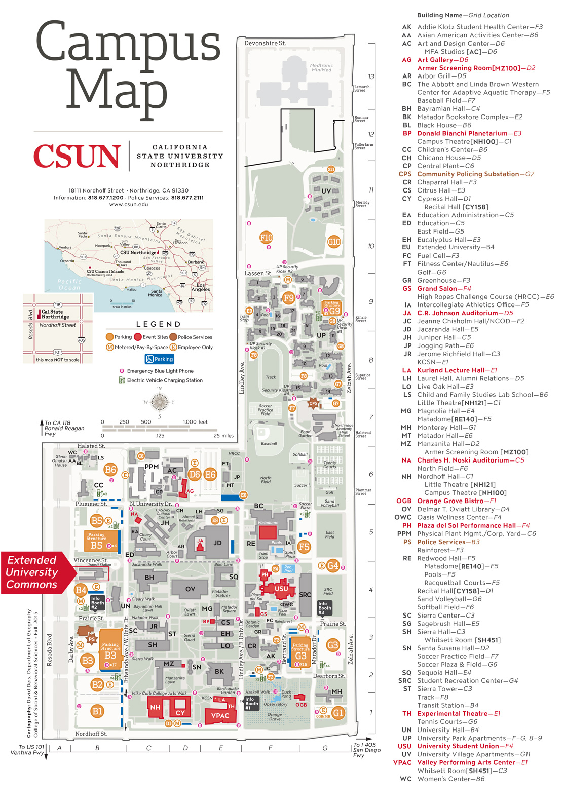 Contact Us > Visit Tseng College | Cal State Northridge - Csun for Cal State Northridge School Calendar