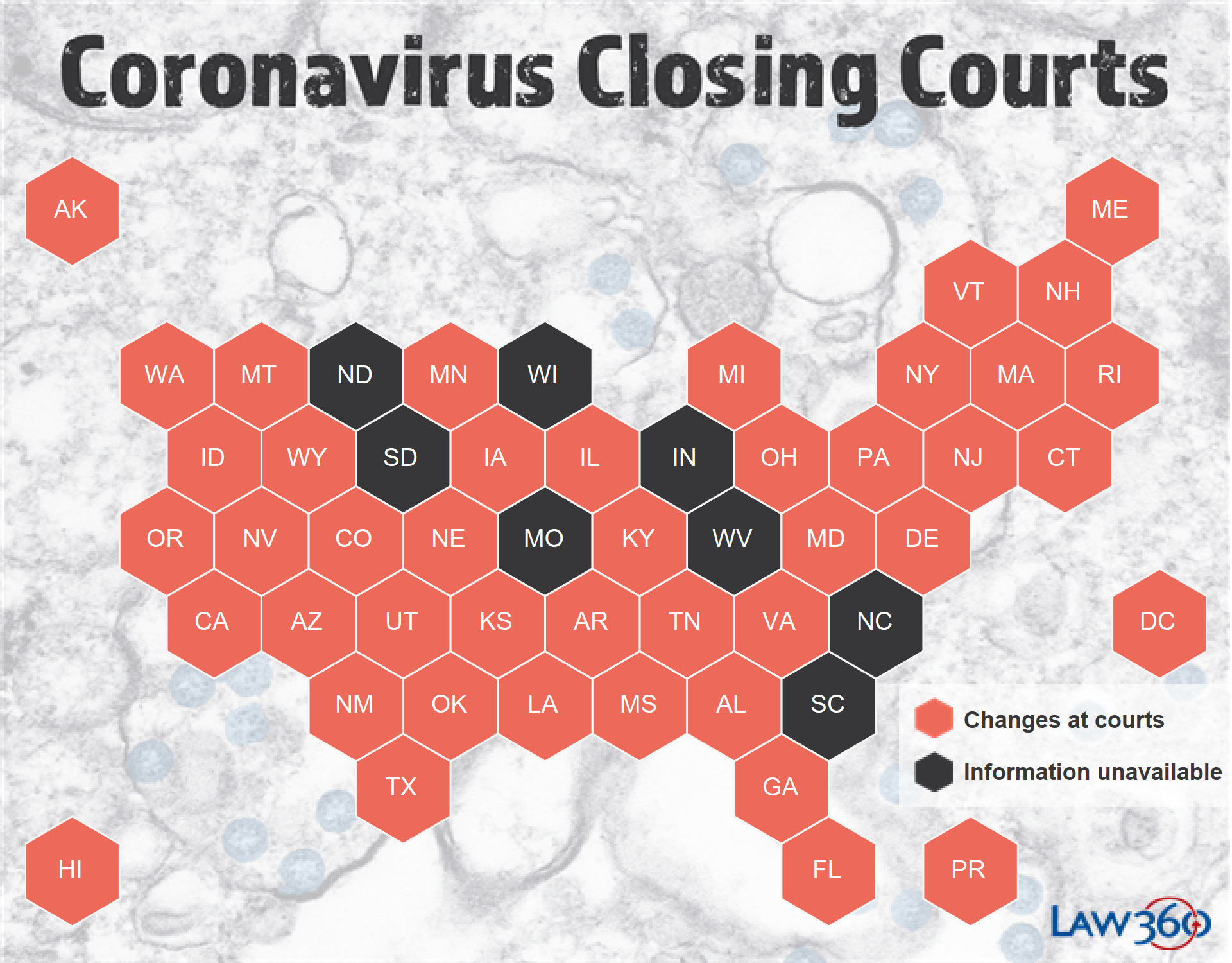 Coronavirus: The Latest Court Closures And Restrictions – Law360 For Nc Court Federal Court Calendar