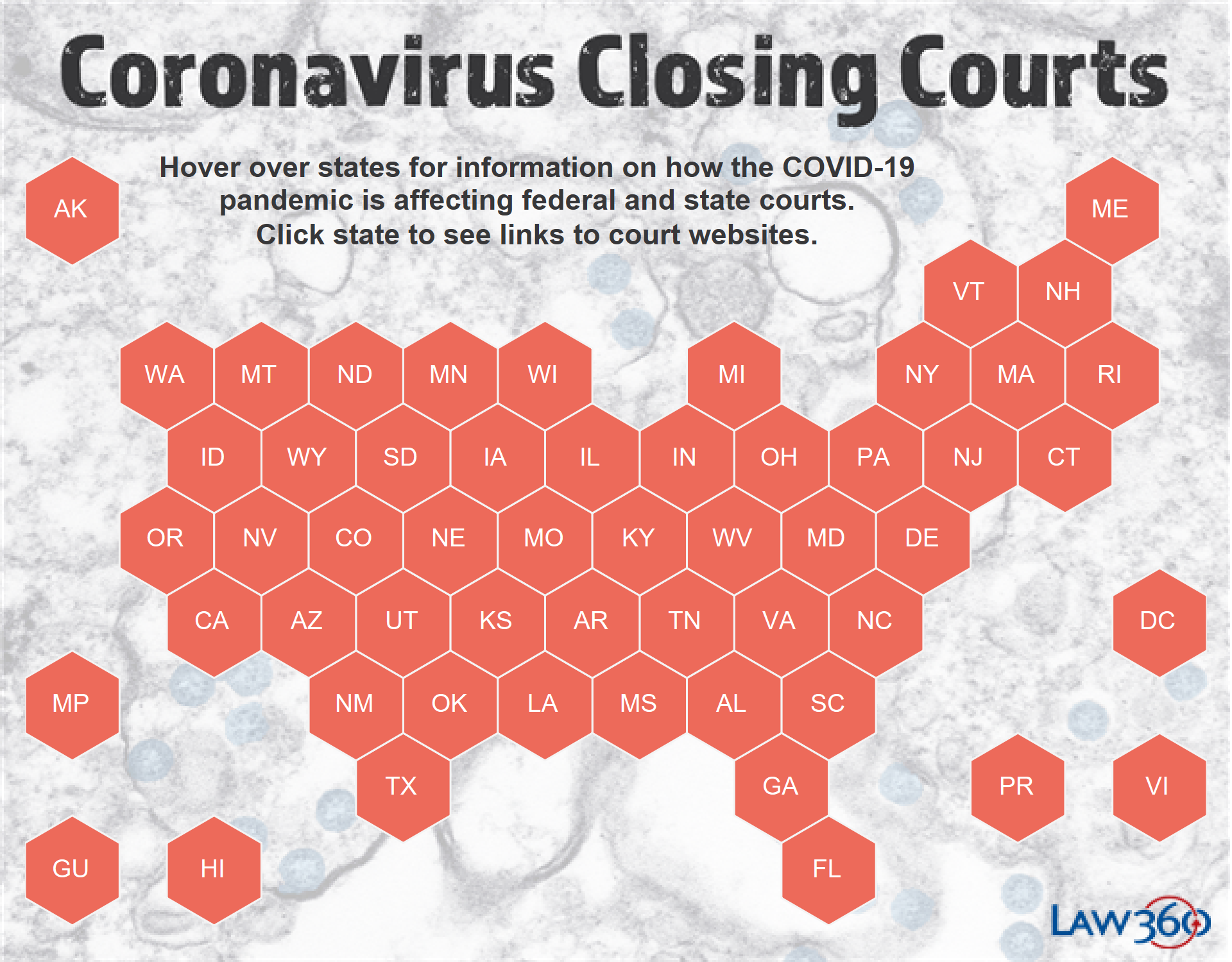 Coronavirus: The Latest Court Closures And Restrictions - Law360 Regarding Nc Court Federal Court Calendar
