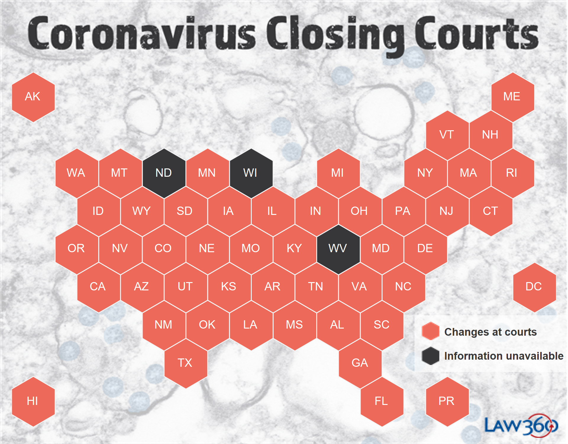 Coronavirus: The Latest Court Closures And Restrictions – Law360 With North Carolina Court Calendar Search By Name