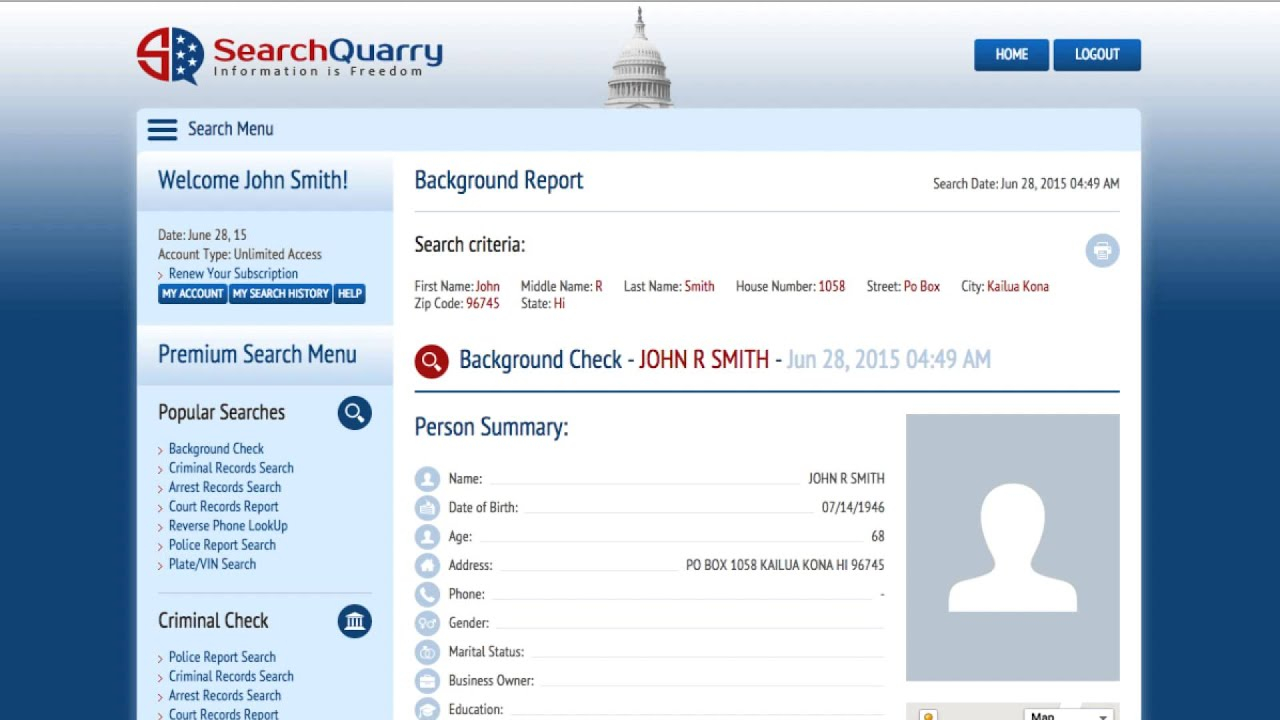 Court Records Lookup - Searchquarry Intended For Nc Court Schedule System By The Name