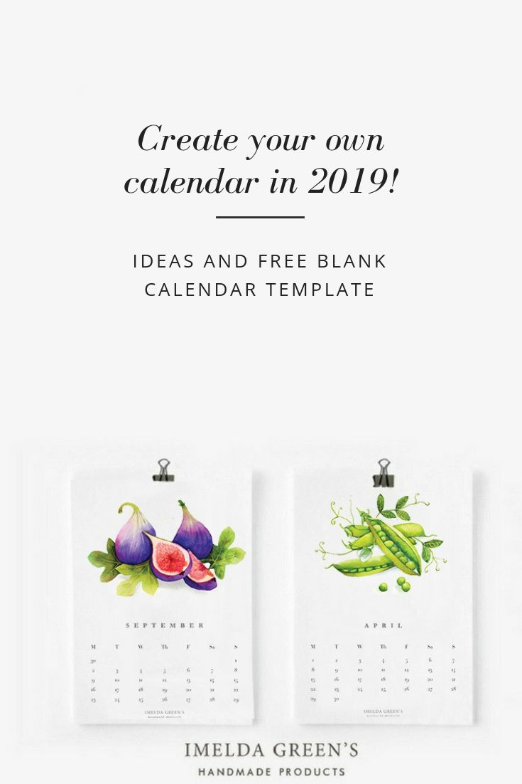 Create Your Own Calendar In 2019! | Create Your Own Calendar For Create Your Own Calendar Printable