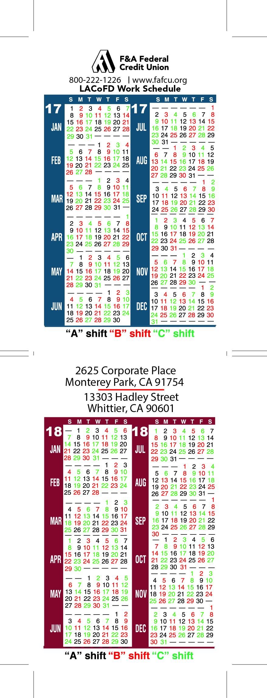 Crew Scheduler Acadian: Lafd Shift Schedule 2017 With Houston Fire Department Shift Calendar