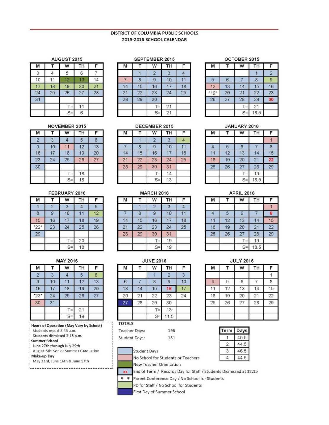 Dc Public Schools Calendar – 2020 2021 Studychacha Regarding Dsm School Calendar