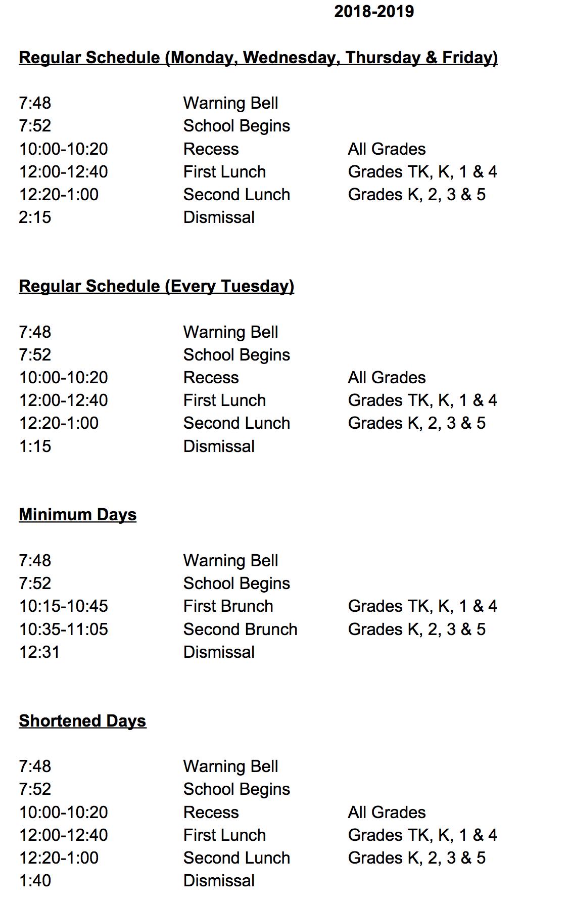 Dearborn Elementary Charter Academy In San Fernando High School Spring Break Calendar
