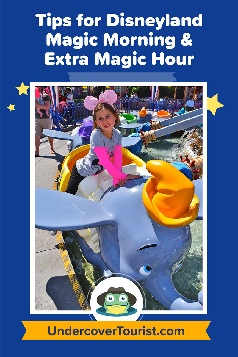 Disneyland Magic Morning – When To Use And When To Avoid Throughout 2021 Extra Magic Hours Calendar