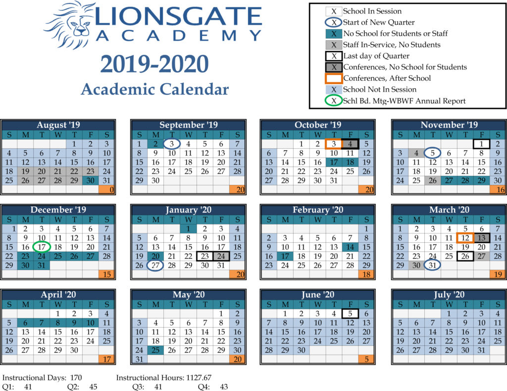 District Calendar | Lionsgate Academy Pertaining To White Bear Lake Schools Activites Calendar 2021 2021