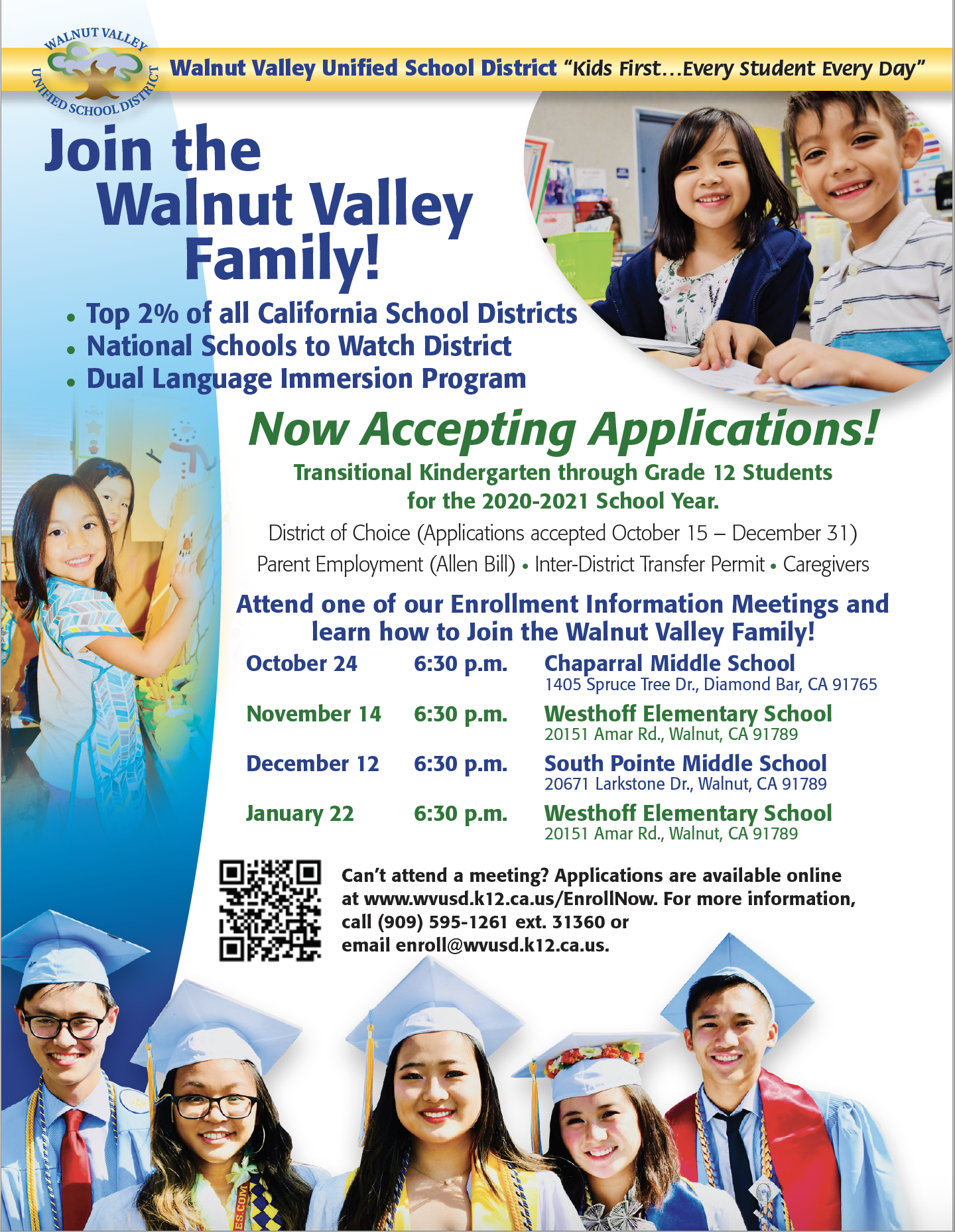 District Of Choice – District Of Choice – Walnut Valley Inside Azusa Unified School District Calendar