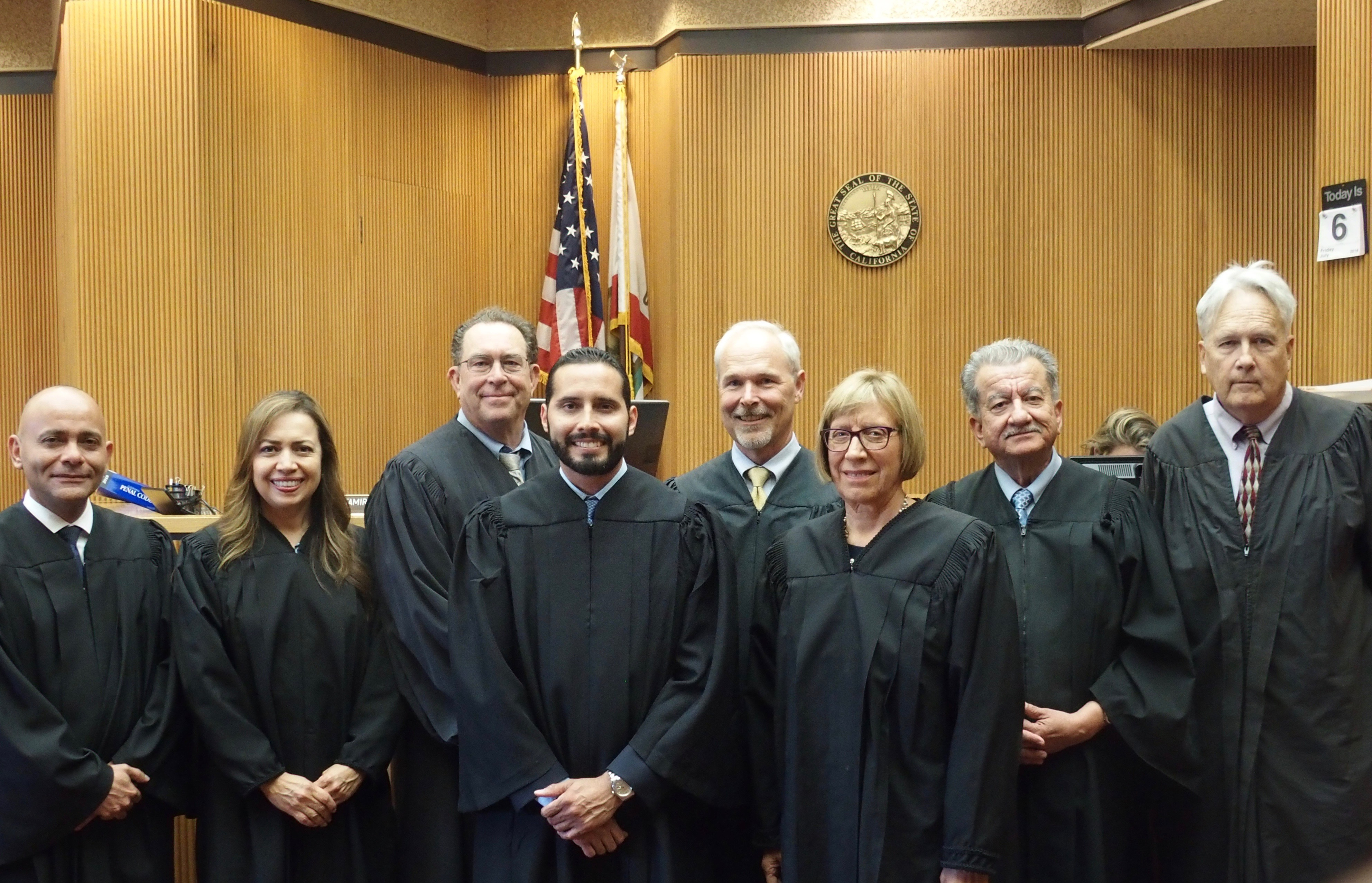 Domenzain Sworn In As Superior Court Judge | Local News With Imperial County Superior Court Calendars