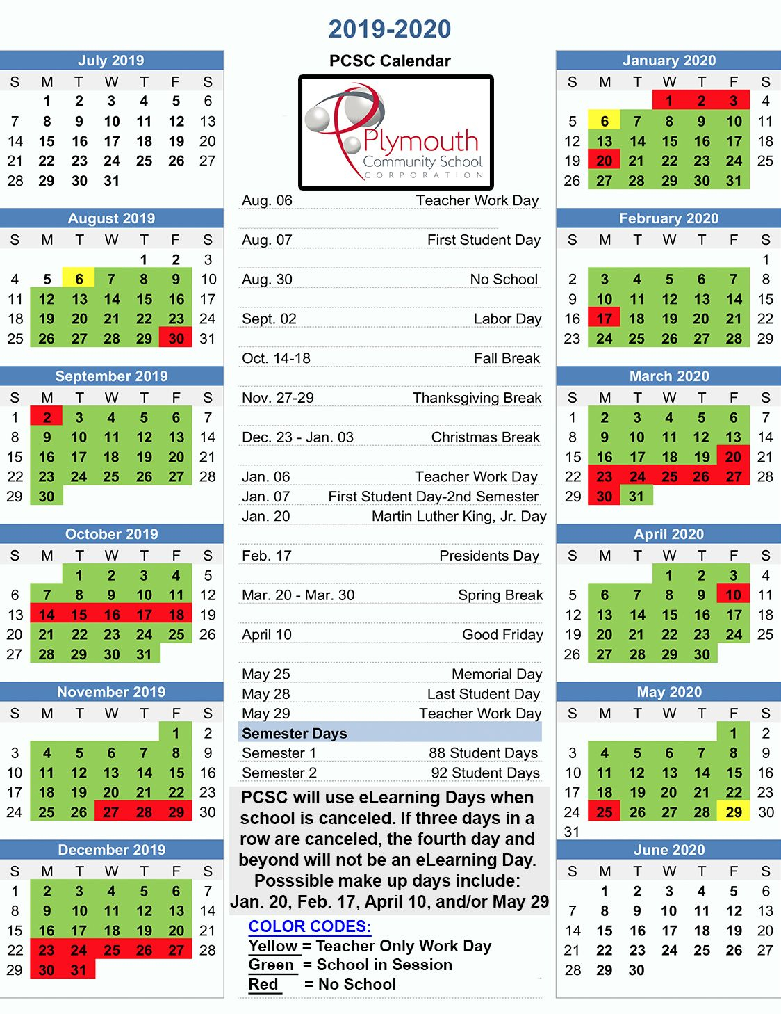 Download A Copy Of The Recently Approved 2019 2020 Pcsc Regarding Palm Beach State School Calendar