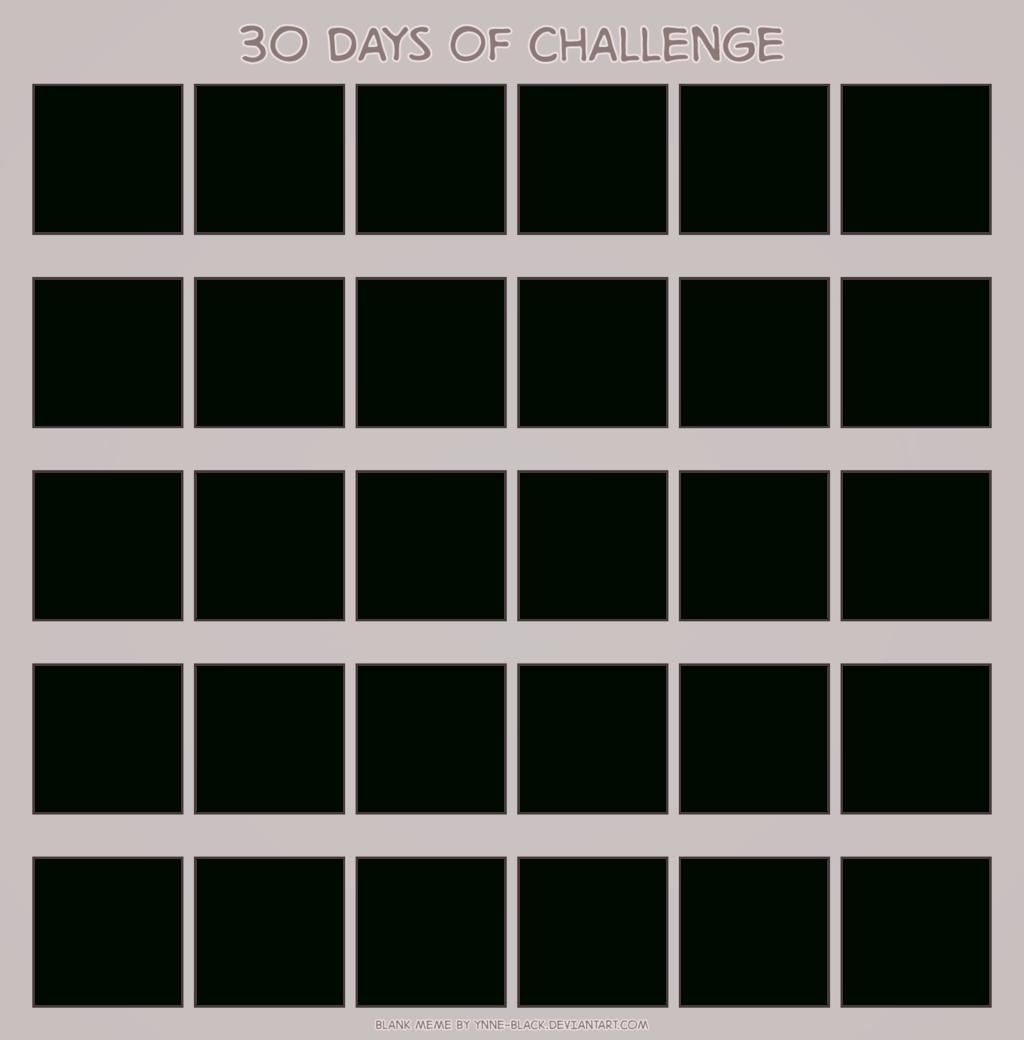 Download Blank Calendar Printable Mesmerizing 30 Www Throughout 30 Day Challenge Calendar