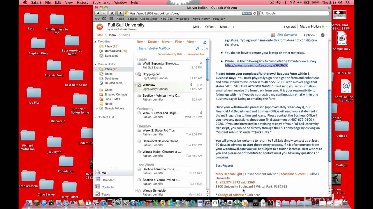 Dropping Out Of Full Sail. Part 3 With Regard To Full Sail Semester Schedule