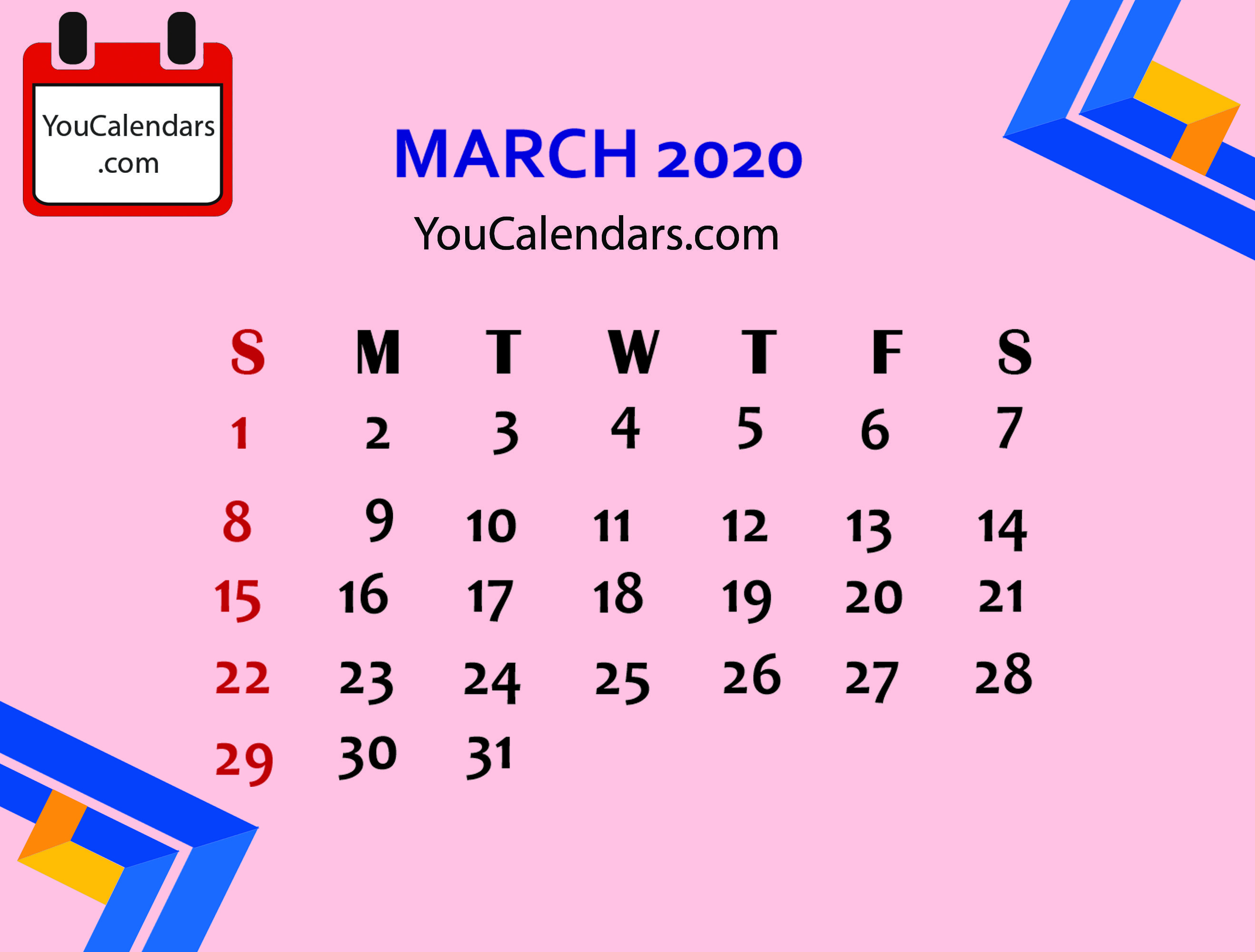 ✅Free March 2020 Calendar Printable Template (With Images Inside The School District Of Palm Beach County School Calendar 2020 2021
