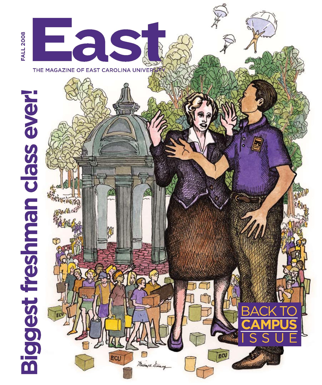 East : The Magazine Of East Carolina University [2008 : Fall Intended For East Carolina University Holiday Calendar