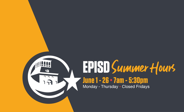 El Paso Independent School District / Homepage Regarding El Paso County School District 11 Calendar