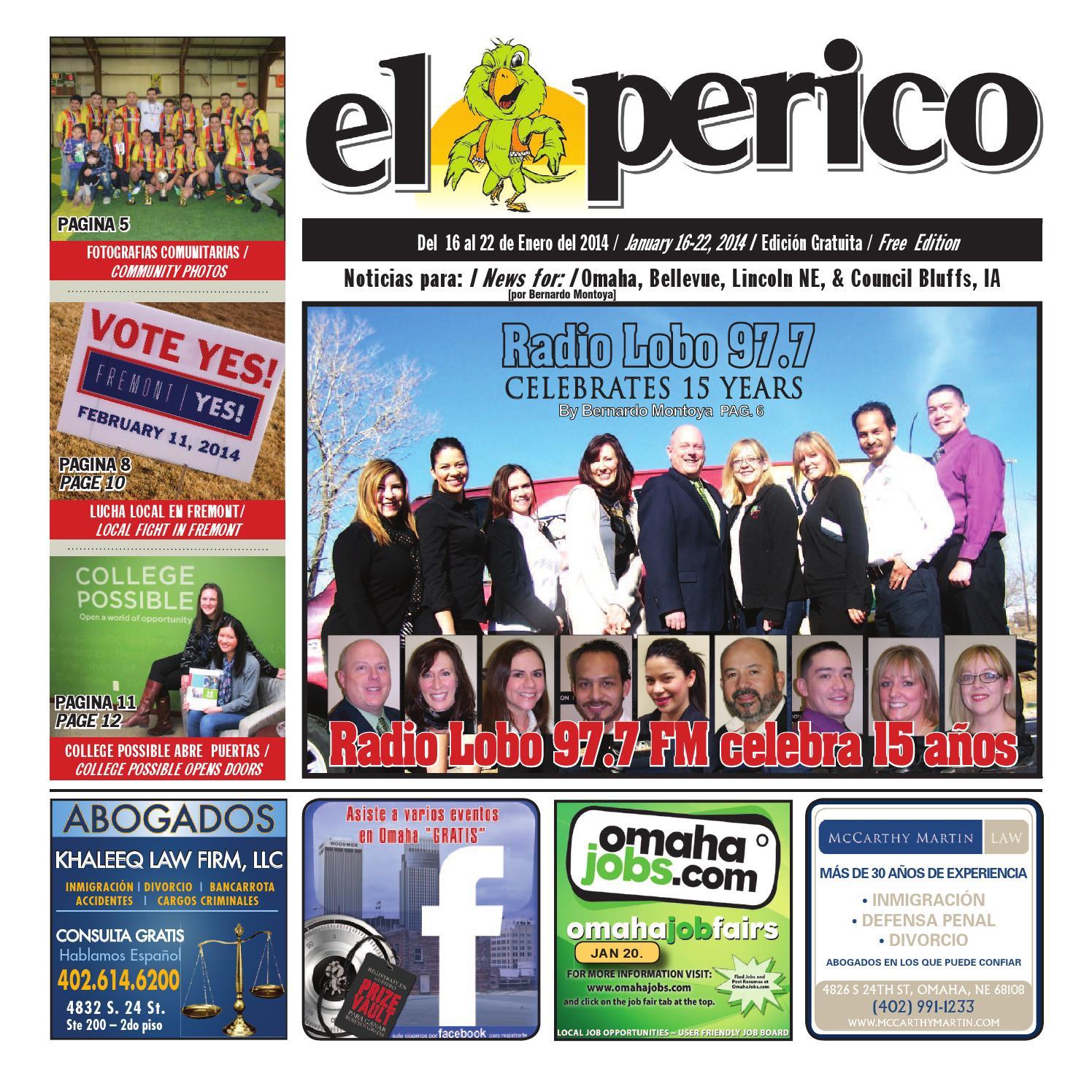 El Perico Jan. 16, 2014Pioneer Publishing - Issuu Pertaining To Need 2021 2021 Printable Calendar For Papillion Lavista Schools
