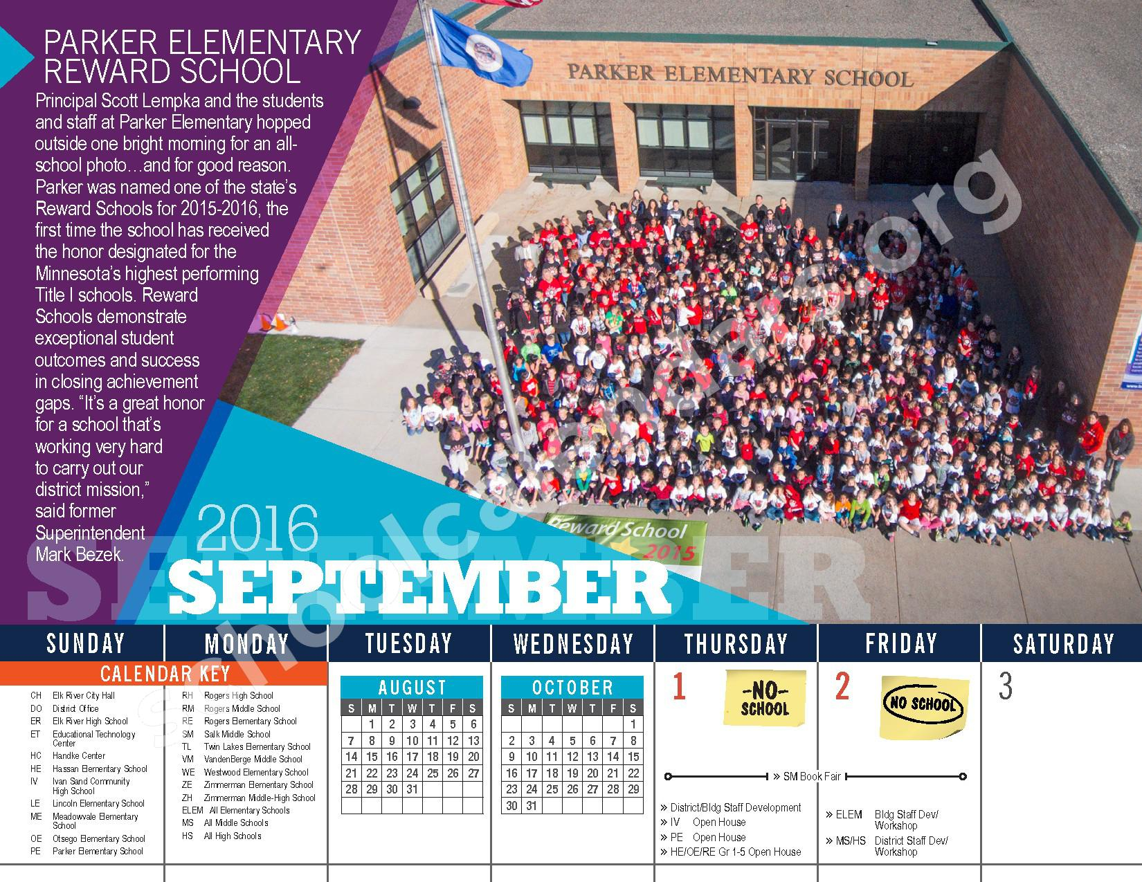 Elk River Public School District Calendars – Elk River, Mn pertaining to Elk River School District Calendar