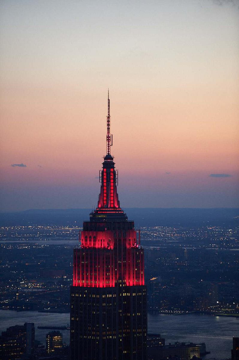 Empire State Building В Твиттере: «Tonight, Our Tower Lights Within Empire State Building Lights Tonight