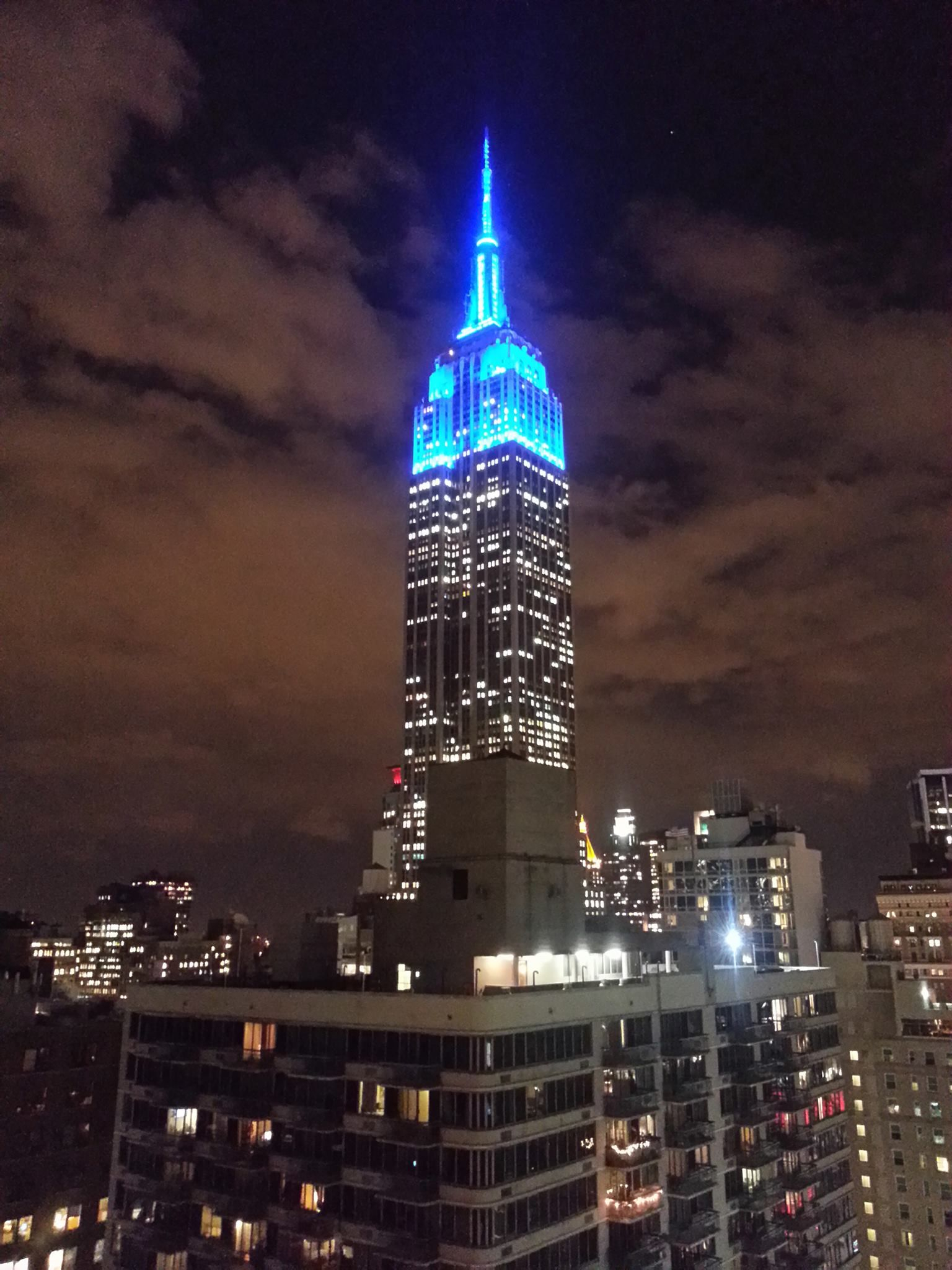 Empire State Building – Light It Up Blue (With Images Inside Empire State Building Lights Calendar