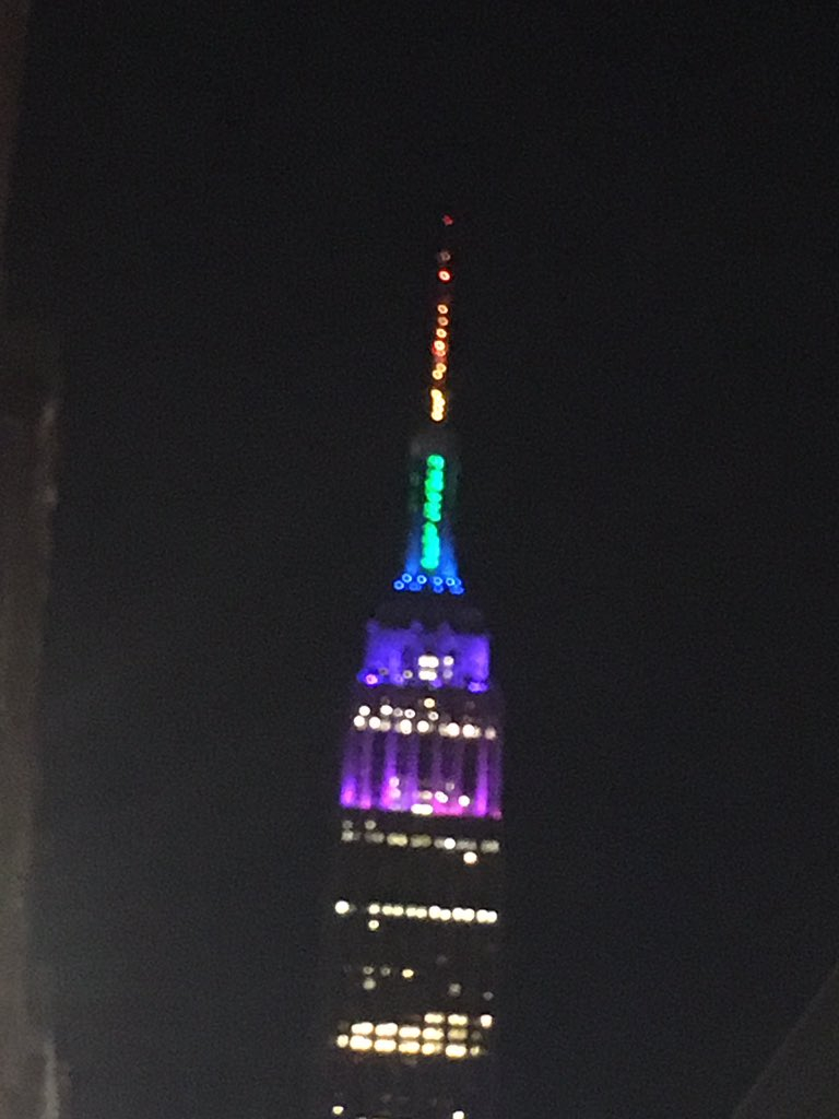 """Empire State Building On Twitter: """"the Within Empire State Building Lights Calendar"""