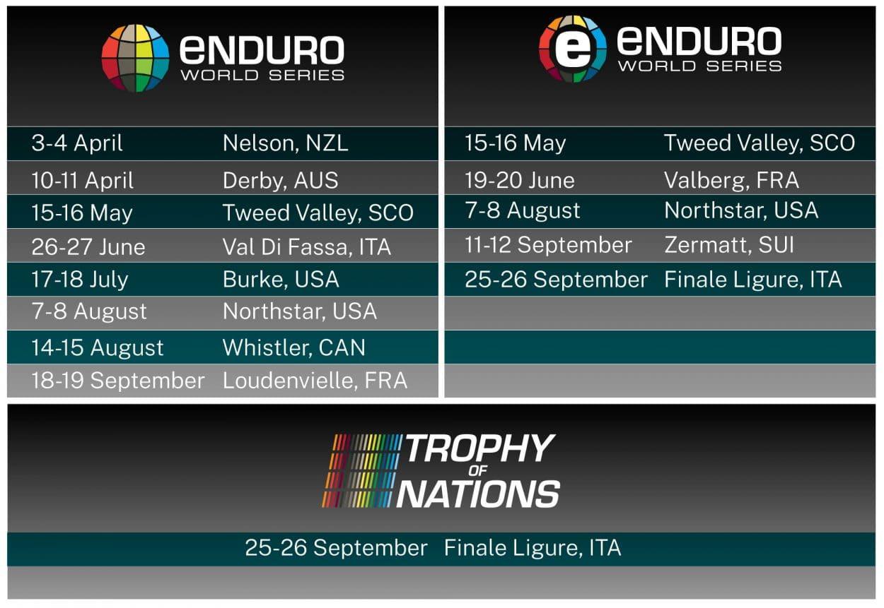 Enduro World Series 2021 Calendar – Mountain Bike Action Intended For August 2021 Calendar Hsu