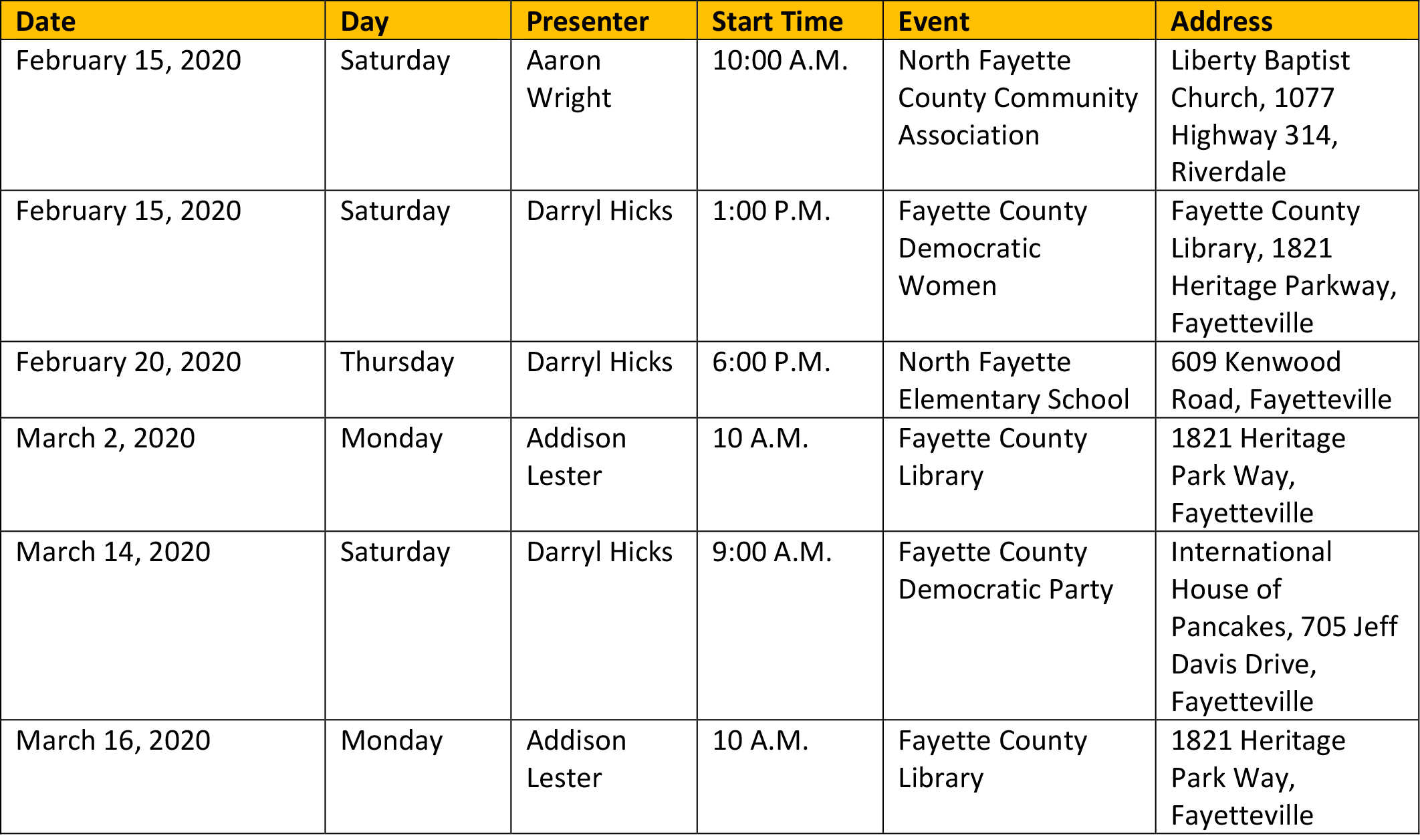 Fayette County Elections & Voter Registration With Fayette County Georgia Calendar