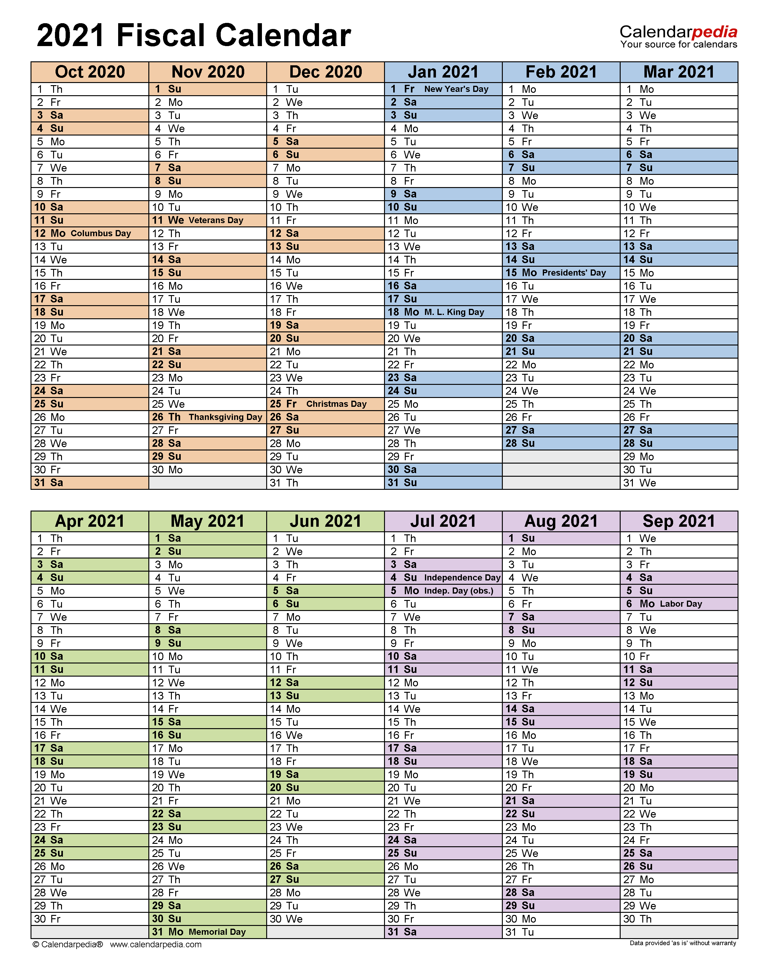 Fiscal Calendars 2021 – Free Printable Pdf Templates For Canton Trade Days Calendar 2021