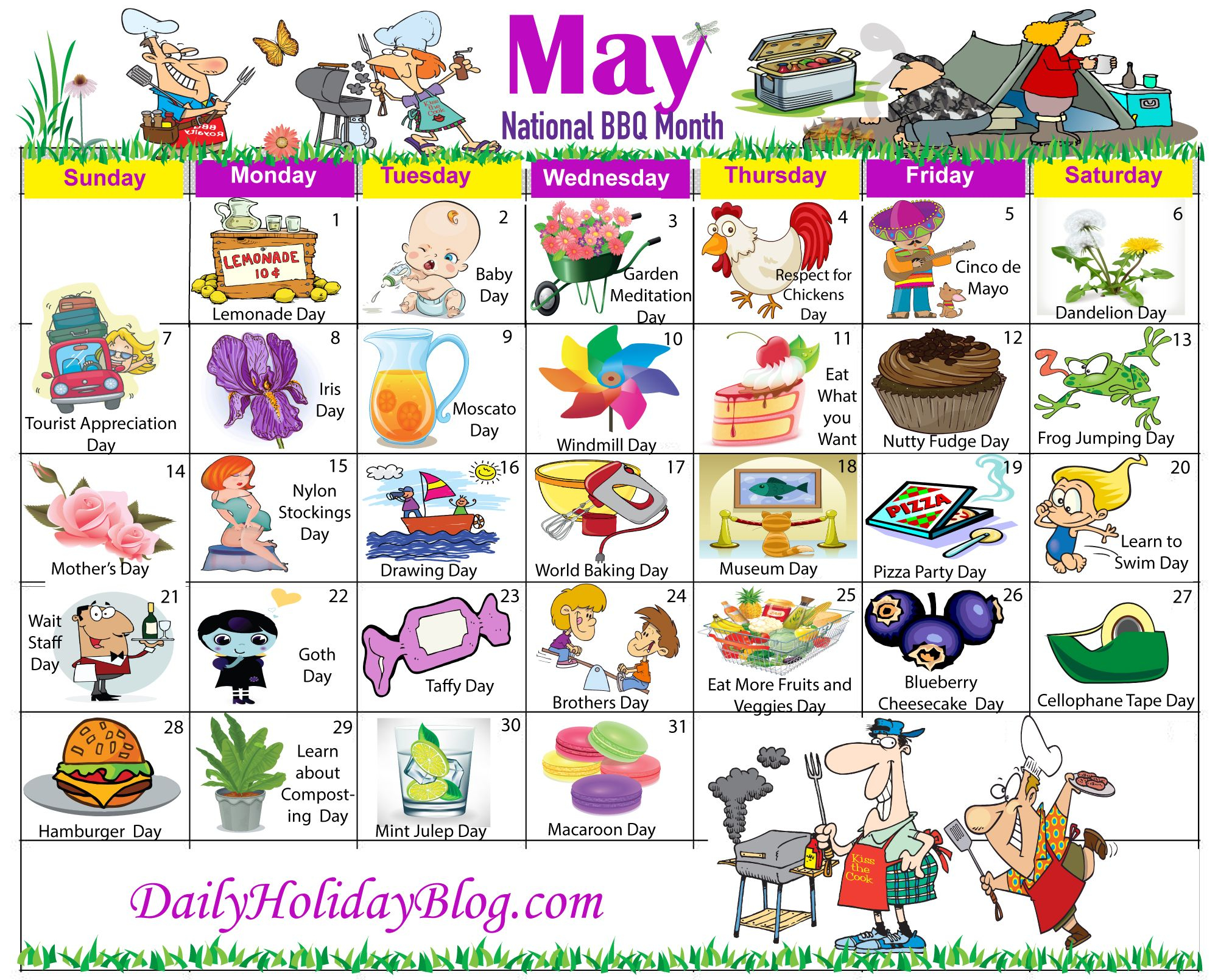 For Subscribers! (With Images) | National Holiday Calendar With Every Day Is A Holiday Calendar