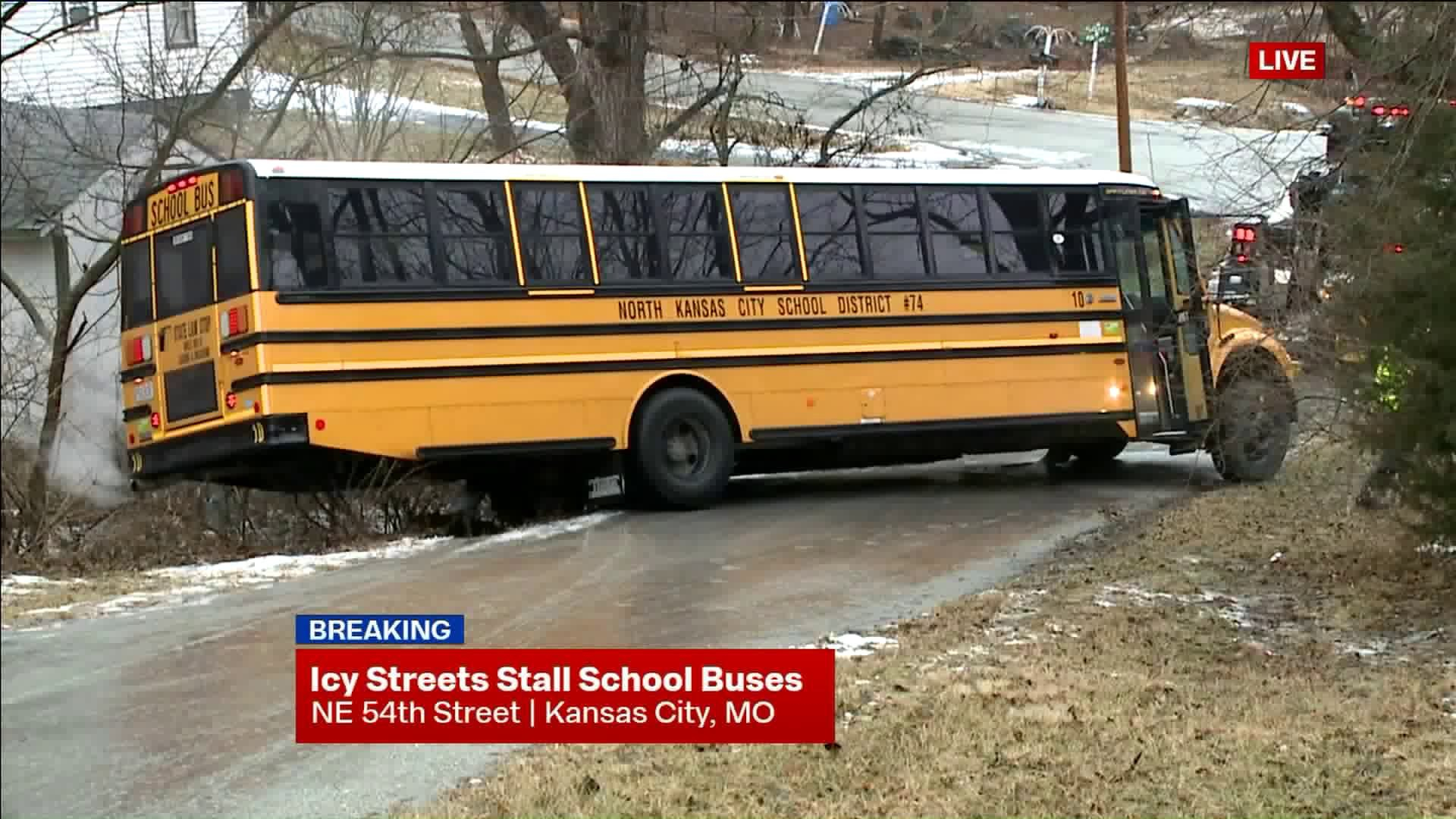 Four North Kansas City School District Buses Stuck In In North Kansas City School District Calendar