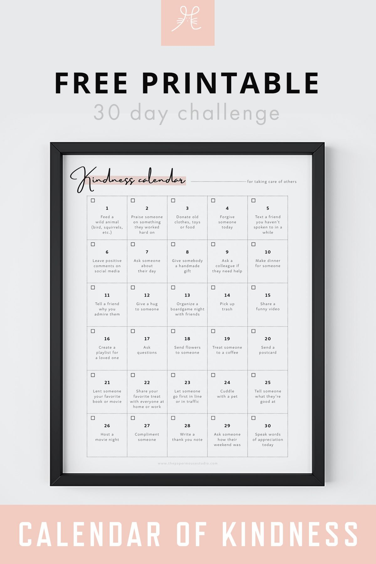 Free Downloads | Printables Freebies, Free, Inspirational Quotes Within 30 Day Challenge Calendar