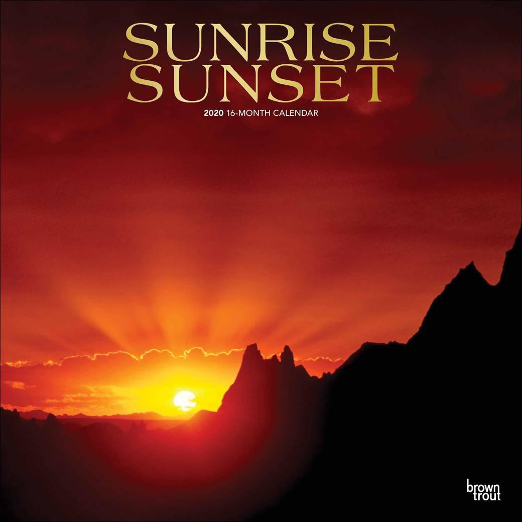 Free Printable Sunrise And Sunset Calendars 2020 With Regard To Sunrise Sunset Calendar Printable