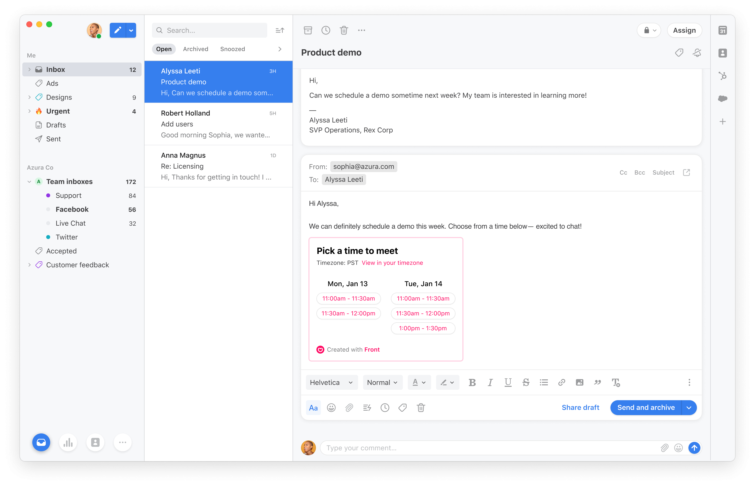 Front Announces Front Calendar To Integrate Scheduling With In Outlook 2021 Google Calendar Edit
