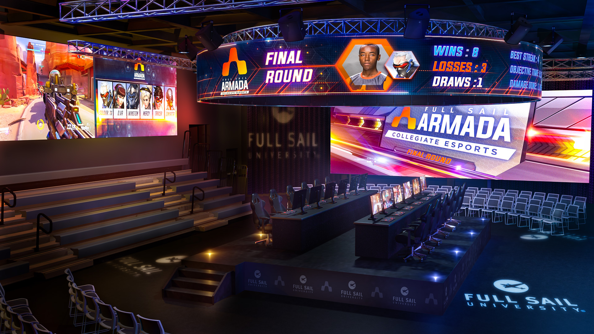 Full Sail University Builds Massive Esports Venue Pertaining To Full Sail University Class Schedule
