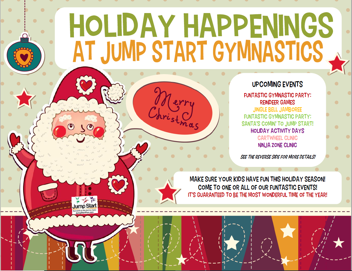 Funtastic Holiday Activities – Jump Start Gymnastics In Calendar Events Peoria Il