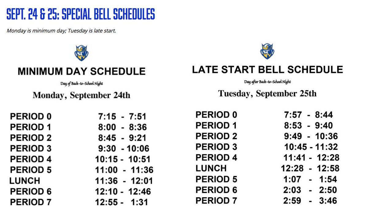 "Fvhs On Twitter: ""barons – We Have Back To School Night On Intended For Fvhs School Calendar"