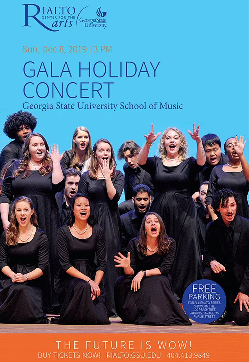 Gala Holiday Concert At Rialto – Wownow Throughout School Holidays At Georgia State University
