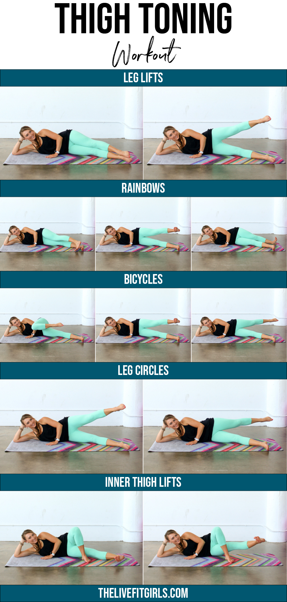 Get Thinner Thighs! • The Best Inner Outer Thigh Workout Throughout Free Printable Program For Inner Thights