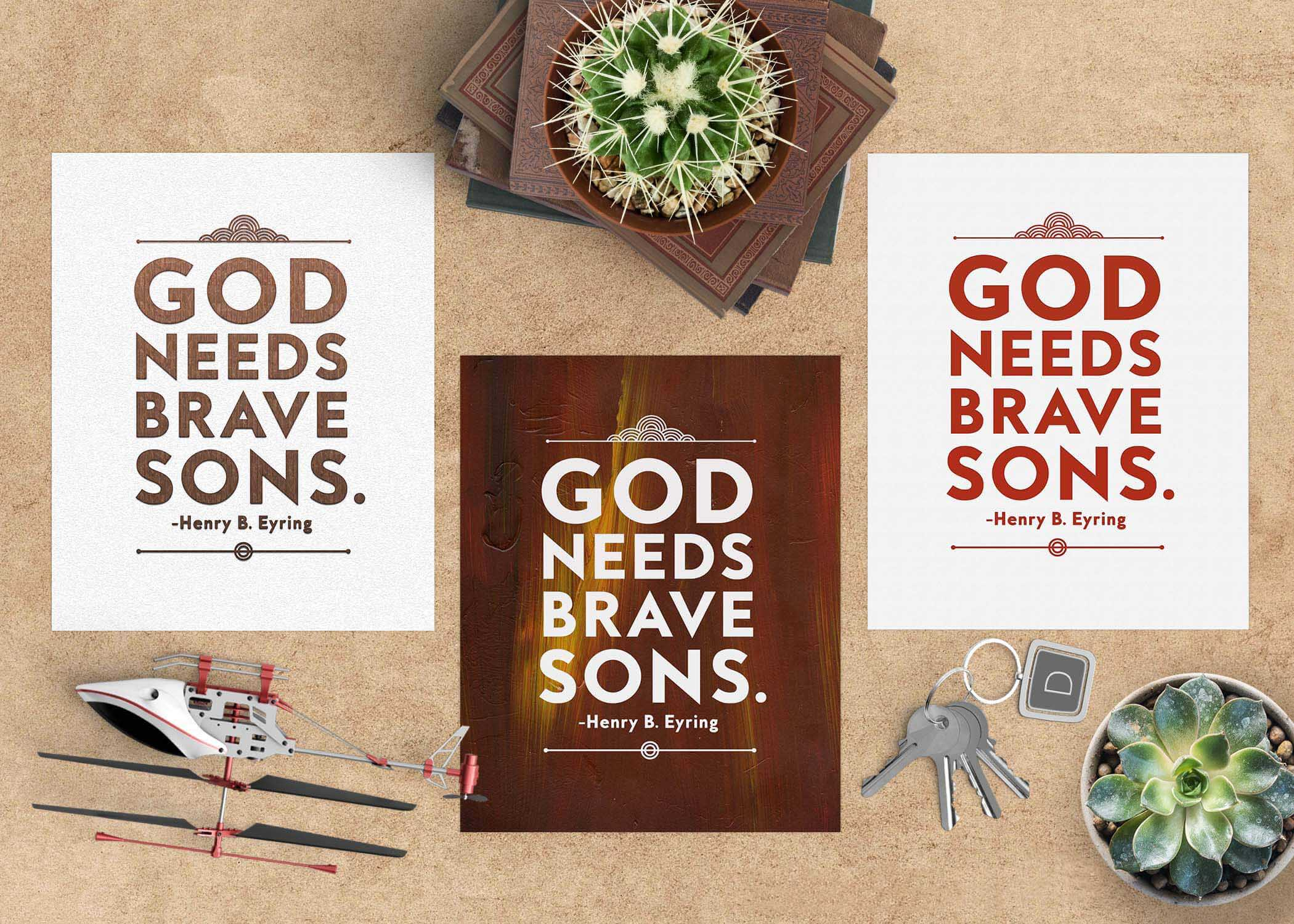 God Needs Brave Sons Free Printables – Teepee Girl With Regard To Printables Pictures Of Mens On A Mission