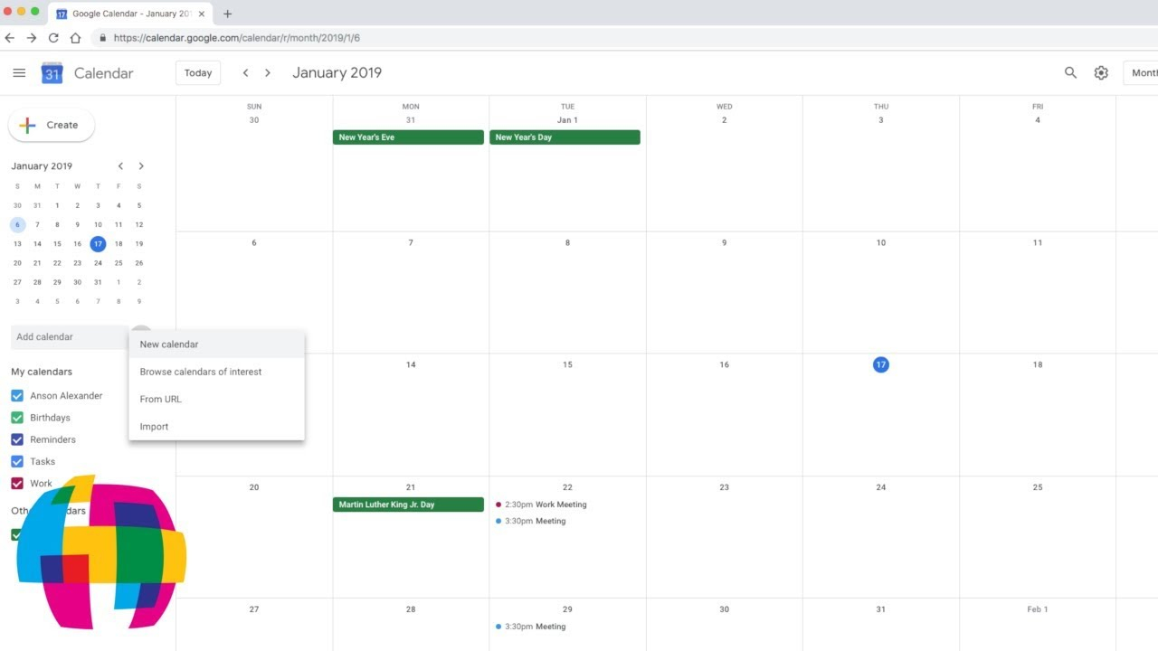 Google Calendar Tutorial 2019 – Quick Start Training With How To Create A Printable Calendar In G Suite